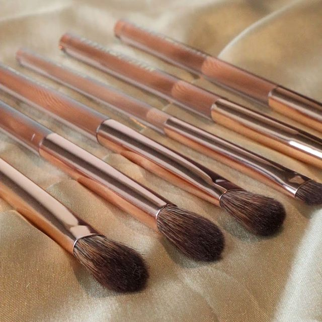 Bronzed Eyeshadow Brush Set